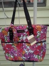 elayna flowered donna sharp quitled purses