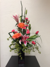 Electrifying Expressions Vase Arrangement in Boise, Idaho | HEAVENESSENCE FLORAL & GIFTS