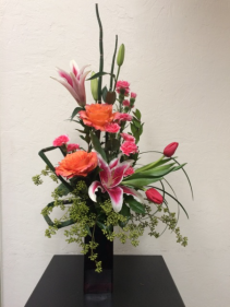 Electrifying Expressions Vase Arrangement