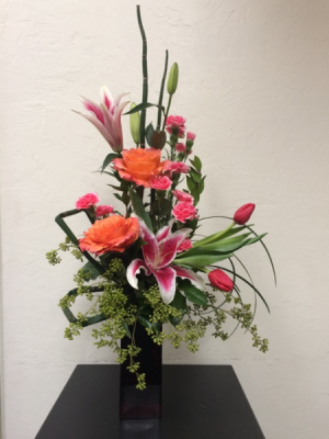 Electrifying Expressions Vase Arrangement in Boise, ID | HEAVENESSENCE FLORAL & GIFTS