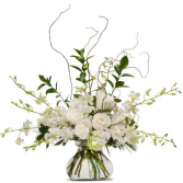 Elegance in White Arrangement