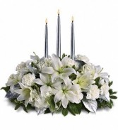 ELEGANCE OF SILVER CENTERPIECE