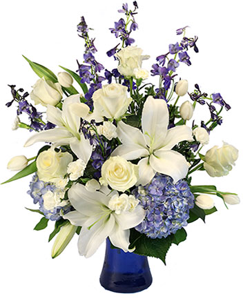 Elegance of Winter Flower Arrangement
