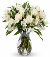 Elegance Roses and Alstroemeria