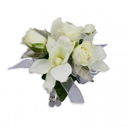 Elegance wrist corsage in spring tx towne flowers elegance wrist corsage mightylinksfo