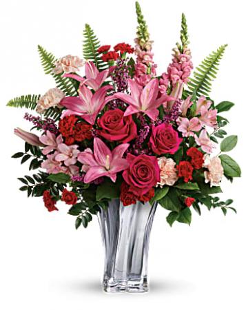 Elegant Adoration Bouquet Valentines Day