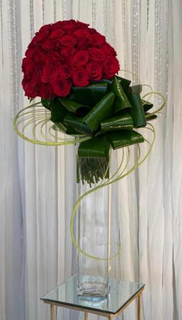Elegant And Formal  Vase