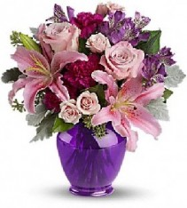 Elegant Beauty VASE ARRANGEMENT