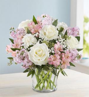 Elegant Blush Bouquet  174315  in Beaufort, SC | Smiling Petals Flower Shop