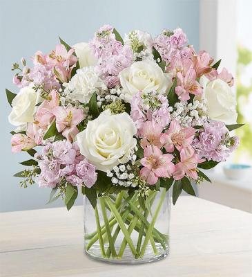 Elegant Blush Bouquet every day
