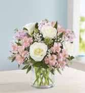 Elegant Blush Flower Vase