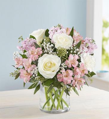 Elegant Blush Flower Vase