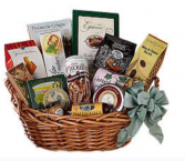 Elegant Cookie, chocolate and sweet basket  Gift basket
