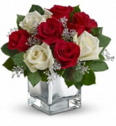 Elegant cube vase