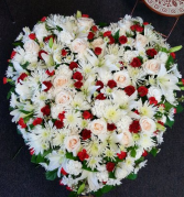 Elegant Endings 36 inch Solid Heart Memorial