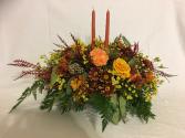Elegant Fall Centerpiece Thanksgiving