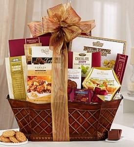 Elegant Flare Gift basket Gourmet Gift basket
