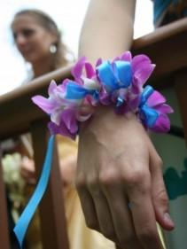 Elegant Floral Bracelet Wrist Corsage