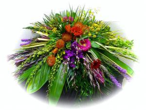 Elegant Garden Casket Spray in Janesville, WI | Floral Expressions
