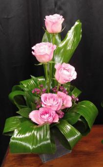 Elegant in Pink Roses