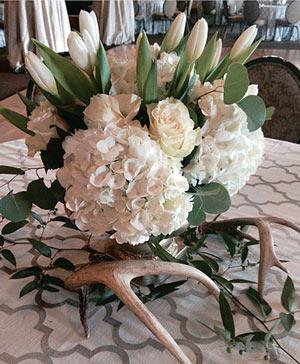Elegant Ivory Centerpiece in Ozone Park, NY | Heavenly Florist