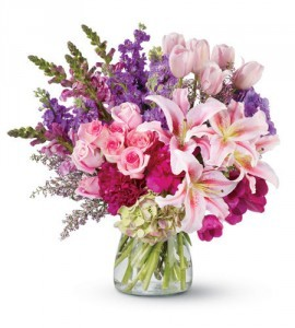 Elegant Jazz assorted flowers