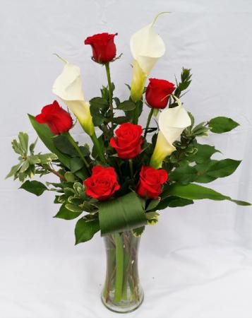 Elegant Lady Vase Arrangement