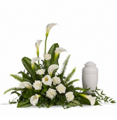 Elegant Lilies Cremation Tribute PFD217-1A