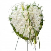 Elegant Love Heart Wreath