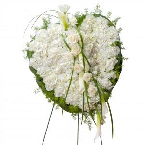 Elegant Love Heart Wreath
