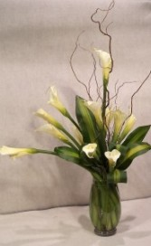 Elegant Love Tall Vased Design