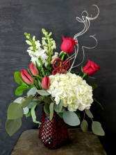 Elegant Passion Flower Arrangement