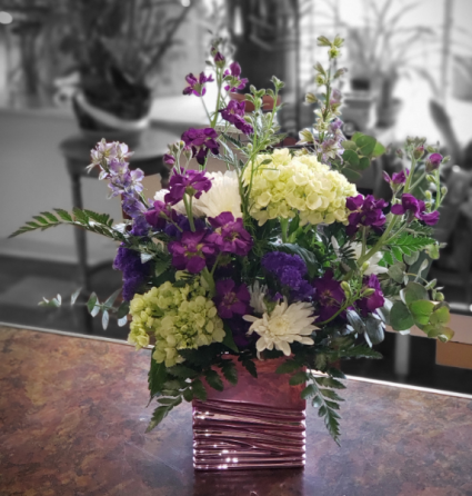 Elegant Purple Arrangement