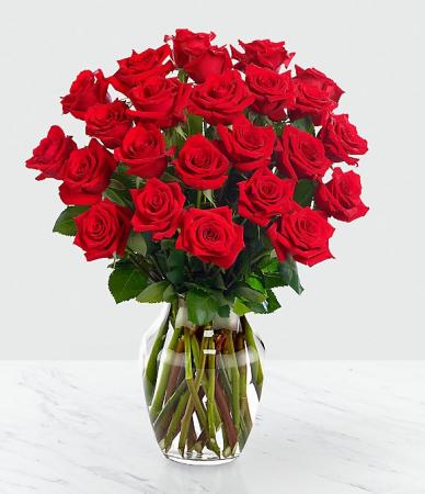 Red Rose Arrangements In Margate Fl