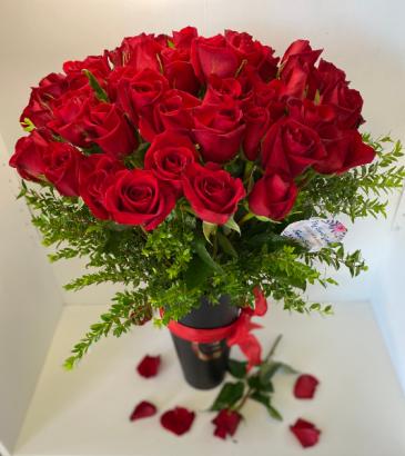 ELEGANT RED ROSES