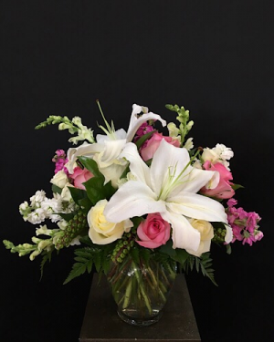 Elegant Romance Vase arrangement  in Chesterfield, MO | ZENGEL FLOWERS AND GIFTS