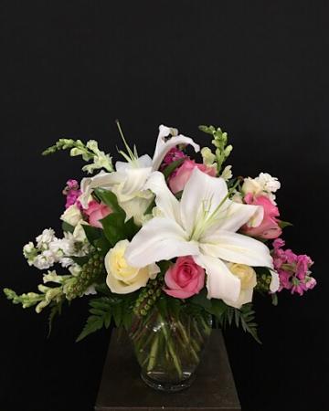 Elegant Romance Vase arrangement