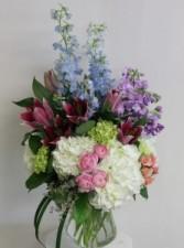 Elegant Spring Meadows Floral Bouquet