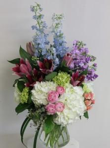 Elegant Spring Meadows Floral Bouquet in Saint Simons Island, GA | A COURTYARD FLORIST
