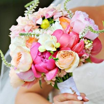 Elegant Spring Wedding Bridal Bouquet