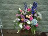 Elegant sympathy arrangement Sympathy flowers