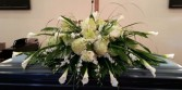 Elegant Sympathy Casket Flowers