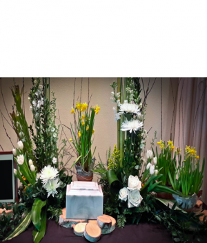 Elegant Tribute Cremation Tribute (urn not Included) in Janesville, WI | Floral Expressions