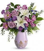 Elegant Vintage Bouquet Lavishly lavender