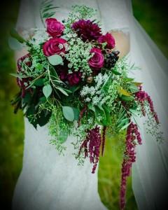 Elegant Wedding Bouquet  Wedding in Spanish Fork, UT | CARY'S DESIGNS FLORAL & GIFT SHOP