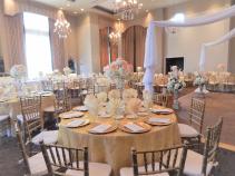 Elegant Wedding reception decorations