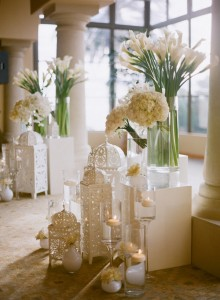 Elegant White Ceremony