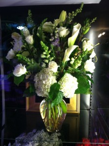 Elegant White Grand Style Vase in Bethel, CT | BETHEL FLOWER MARKET OF STONY HILL