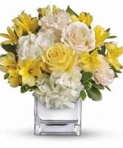 Elegant Yellow Get Well Flowers