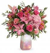 Elegantly shades of Pinks Vase